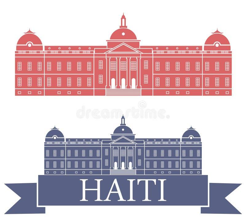 haití ilustración del vector