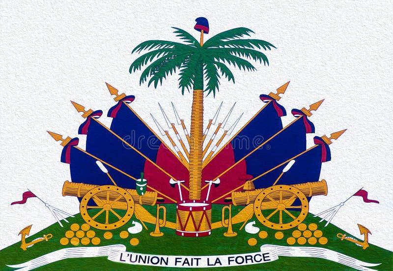 Haiti żakiet ręki obrazy stock