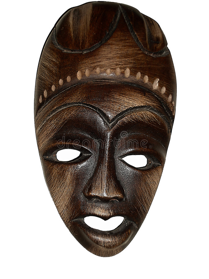 Haiti 1 maska fotografia royalty free