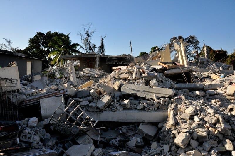 Haiti Earthquake 2010 stock photo
