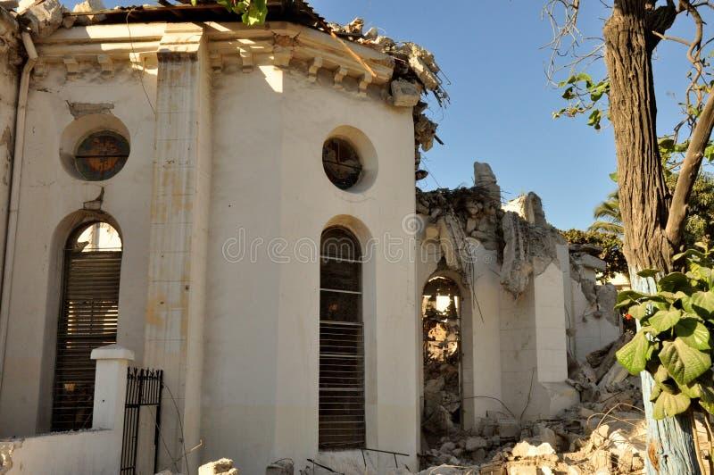 Haiti Earthquake 2010 stock image