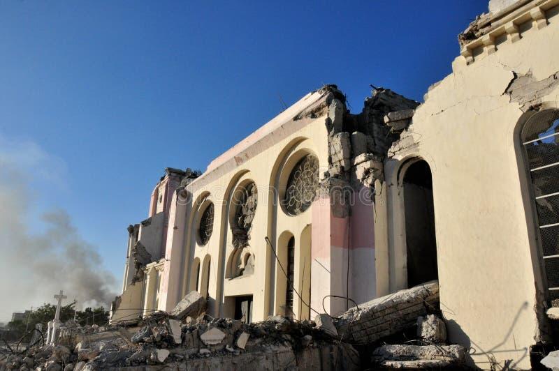 Haiti Earthquake 2010 royalty free stock photo