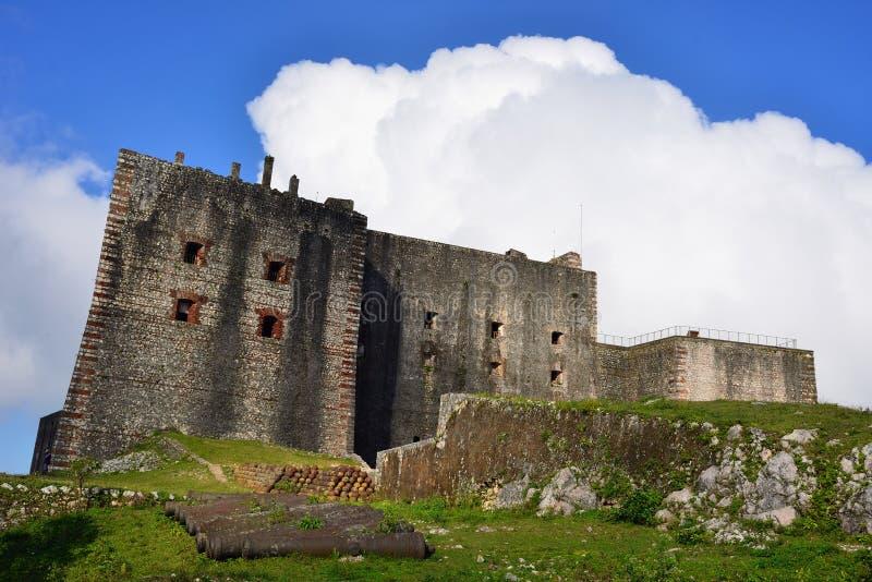 Haiti fort i Milot royaltyfria bilder