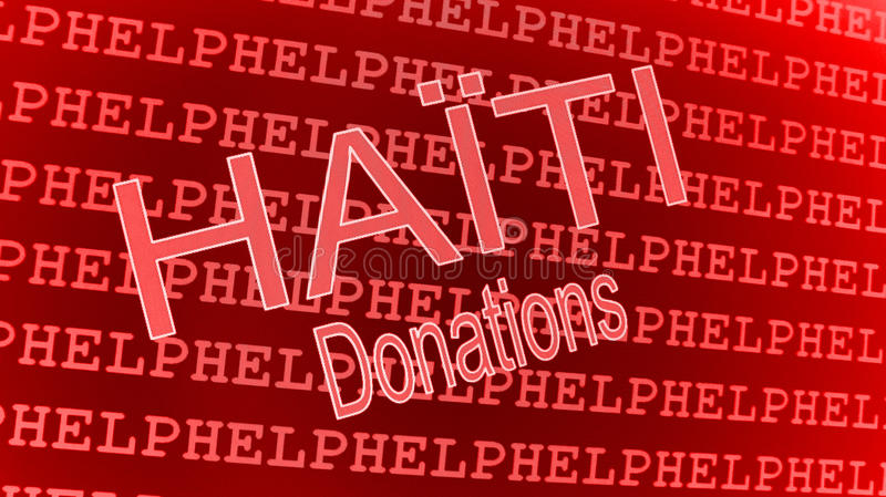 Download Haiti Help - Donations editorial stock photo. Image of donations - 12591068