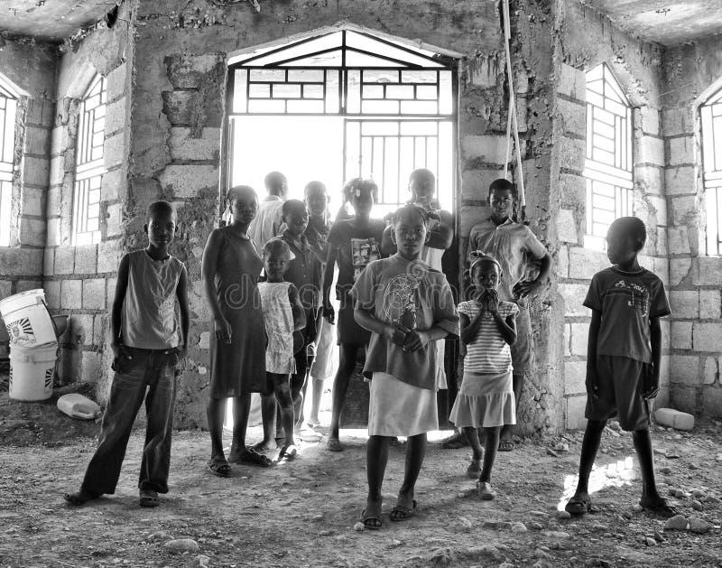 Haiti hopp fotografering för bildbyråer