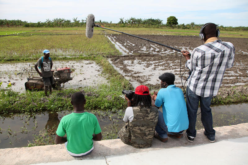 Haiti i lantgården royaltyfri fotografi
