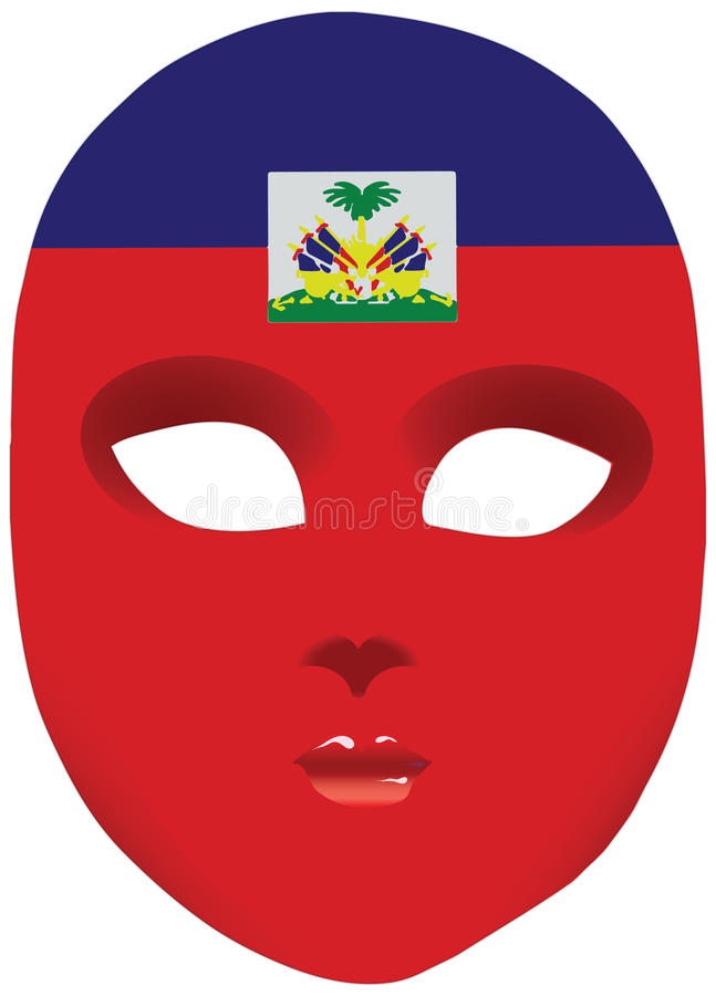 Haiti Mask Stock Vector Illustration Of Disguise Protection 57231312