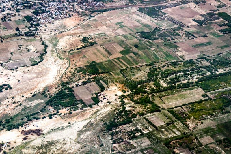 Haiti od nieba fotografia stock