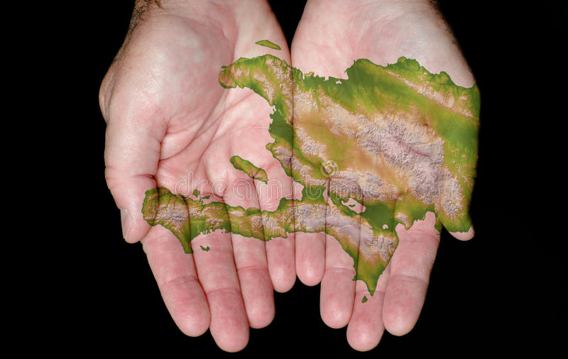 Haiti In Our Hands royalty free stock image