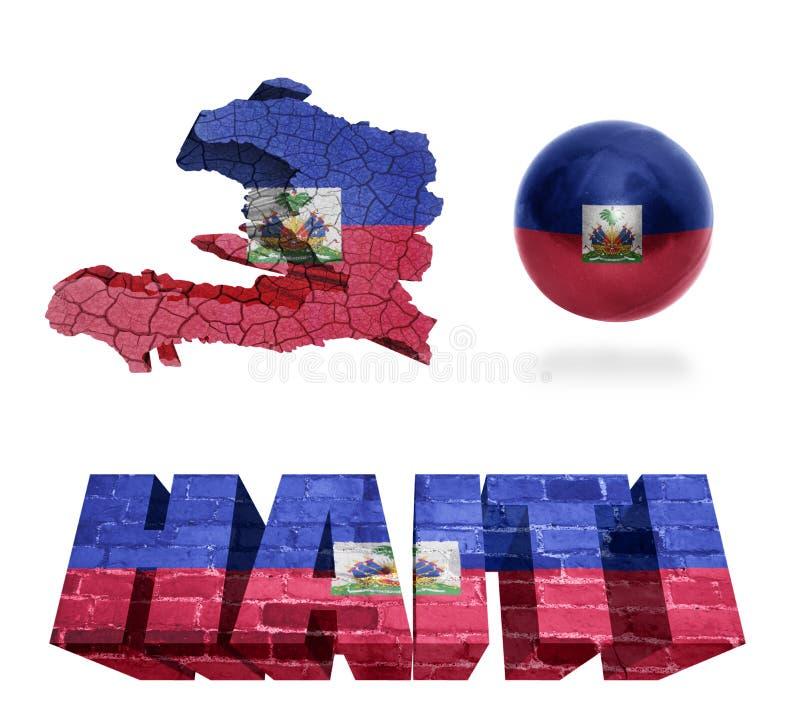 Haiti symbole royalty ilustracja