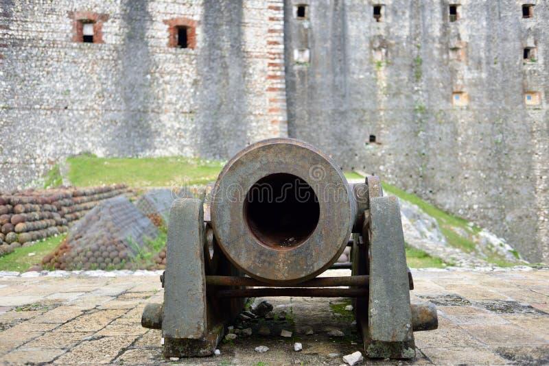 Haiti UNESCOplats royaltyfri foto