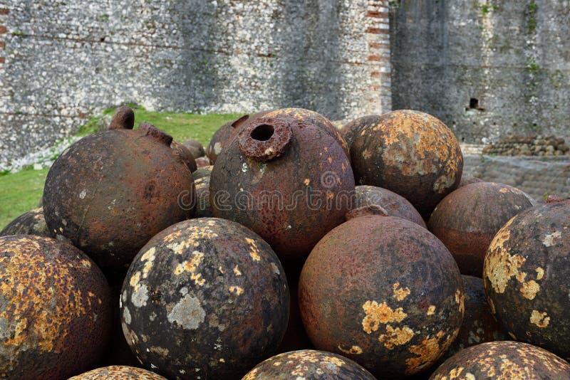 Haiti UNESCOplats royaltyfri bild