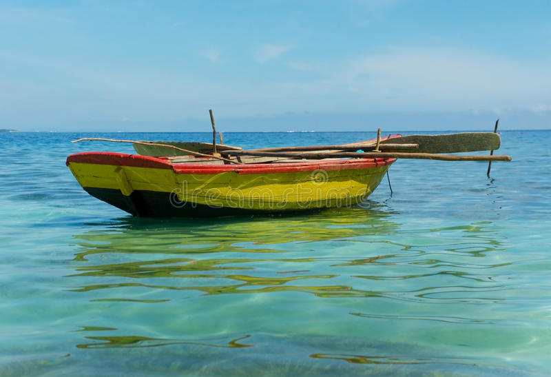 Haitian Fishing Boats stock photos