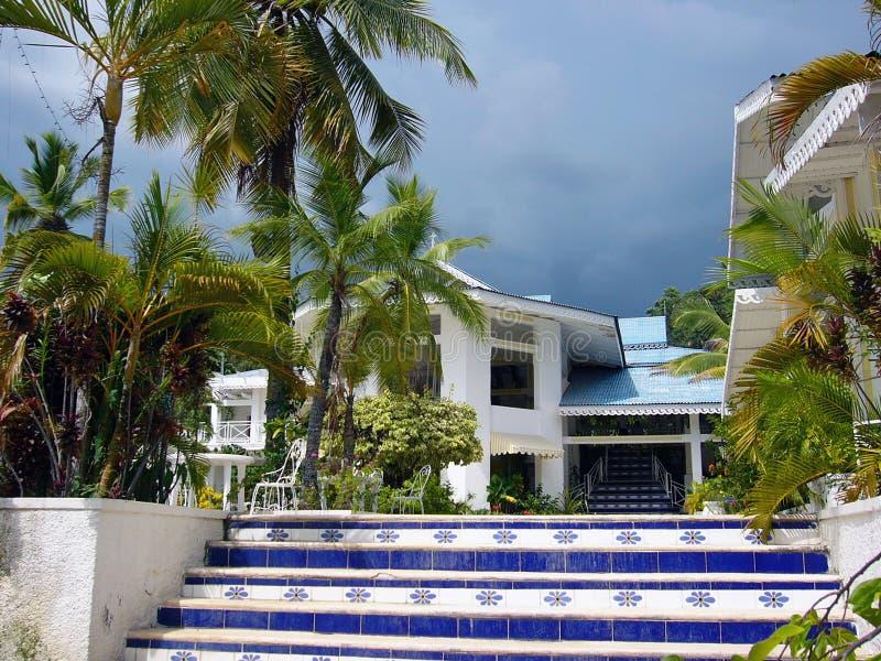 Haitianisches Paradies stockbilder