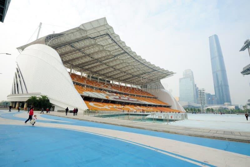Haixinsha Asian Games Park royalty free stock photos