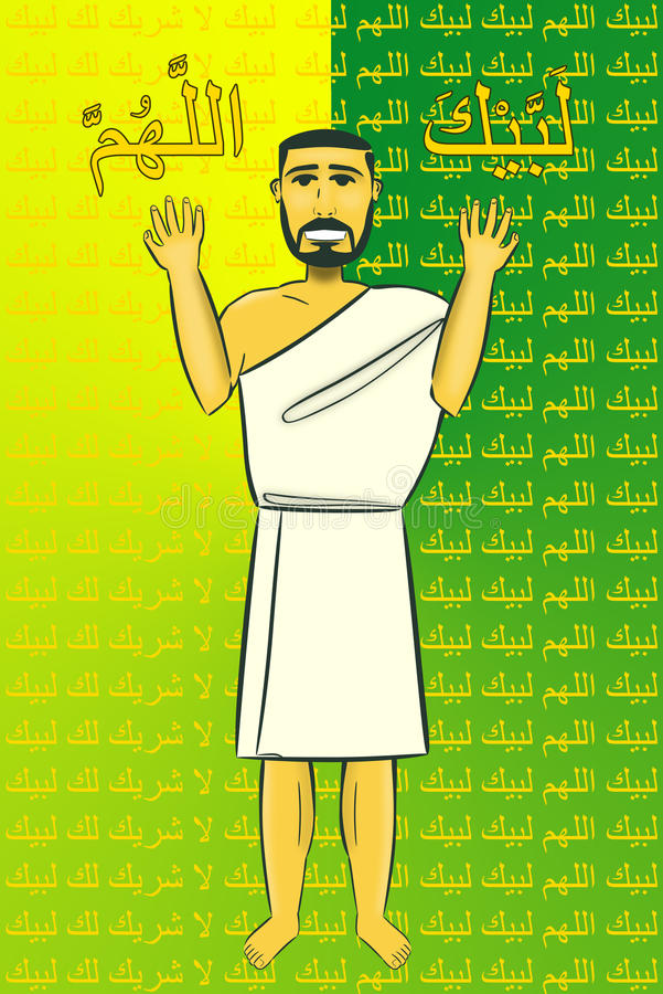 Download Haj stock illustration. Illustration of mecca, arabia - 16583994