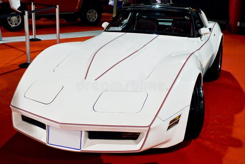 haj 1982 för Chevrolet Corvette coupemph royaltyfria foton