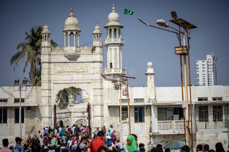Haj Ali Shín, Βομβάη, Ινδία στοκ φωτογραφίες