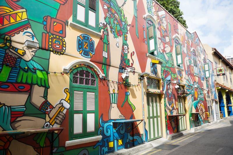 Download Haji Lane è Il Fascino Del Kampong, Singapore Immagine Editoriale - Immagine di glam, asia: 56891150