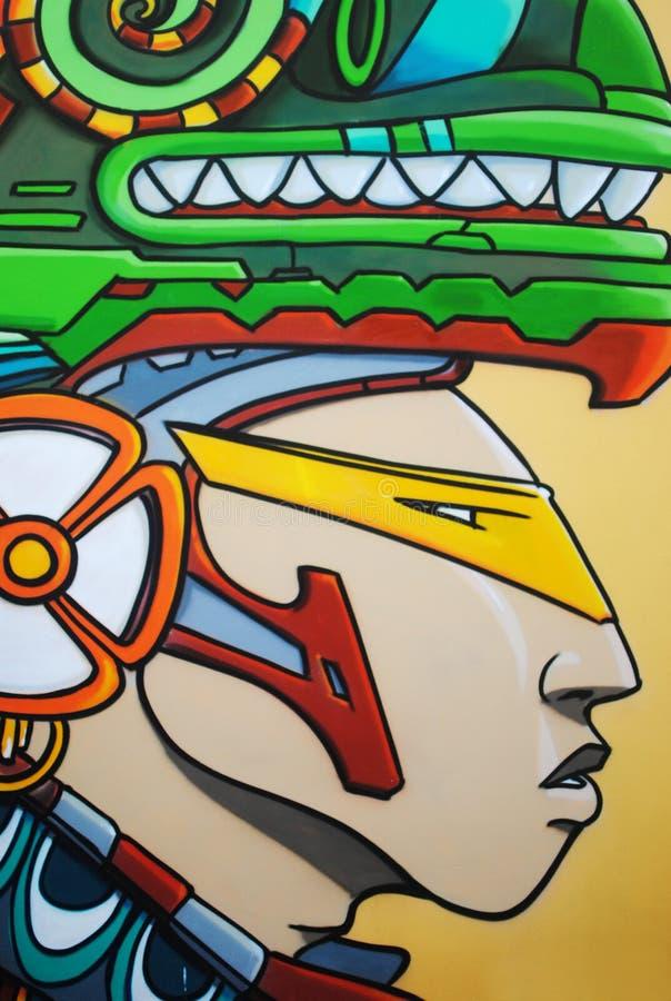 Haji Lane Street Art. Graffiti stock photo