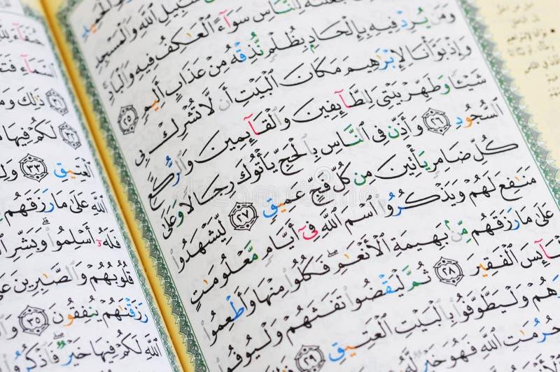 Download Hajj Verse From Quran stock photo. Image of hajj, allah - 19259302