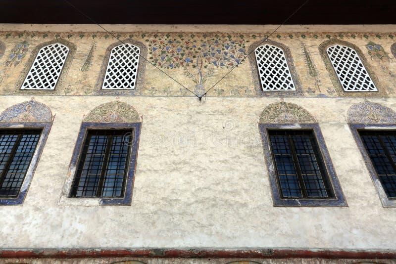 HajjiAlibeg moské i Travnik, Bosnien och Hercegovina arkivfoto