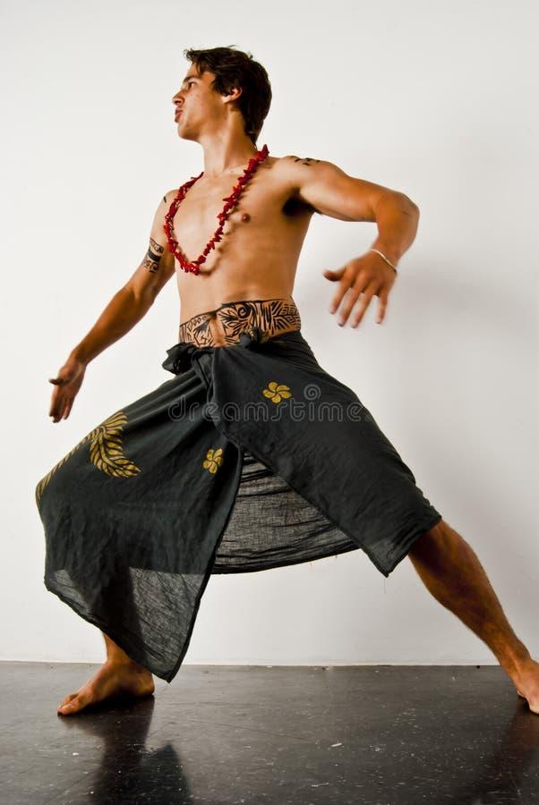 Haka Tanz lizenzfreies stockbild