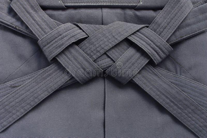Hakama, arts martiaux japonais uniformes photographie stock libre de droits