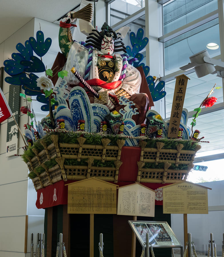 Hakata Gion Yamagasa imagens de stock royalty free