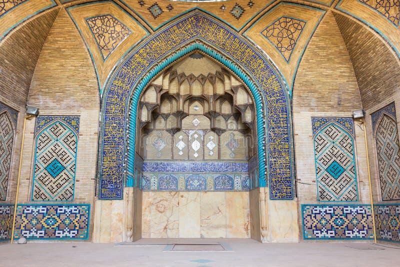 Hakim Mosque (Masjed-e-Hakim) à Isphahan, Iran photos libres de droits