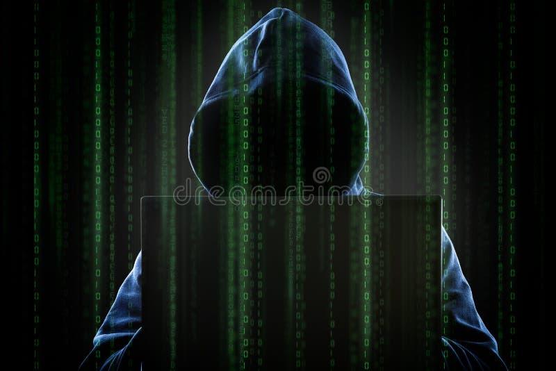 hakker stock illustratie