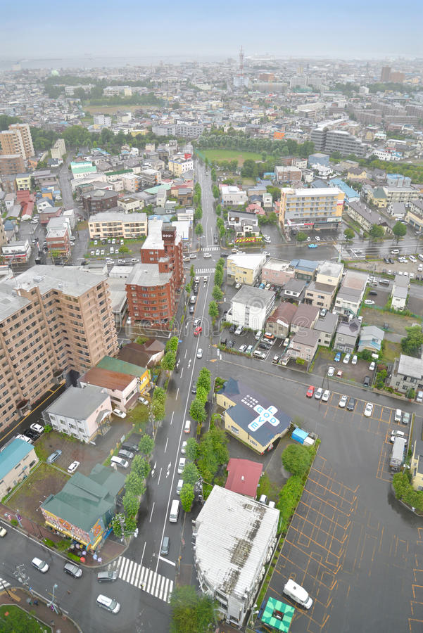 Hakodate cityview, Japan royalty-vrije stock foto's