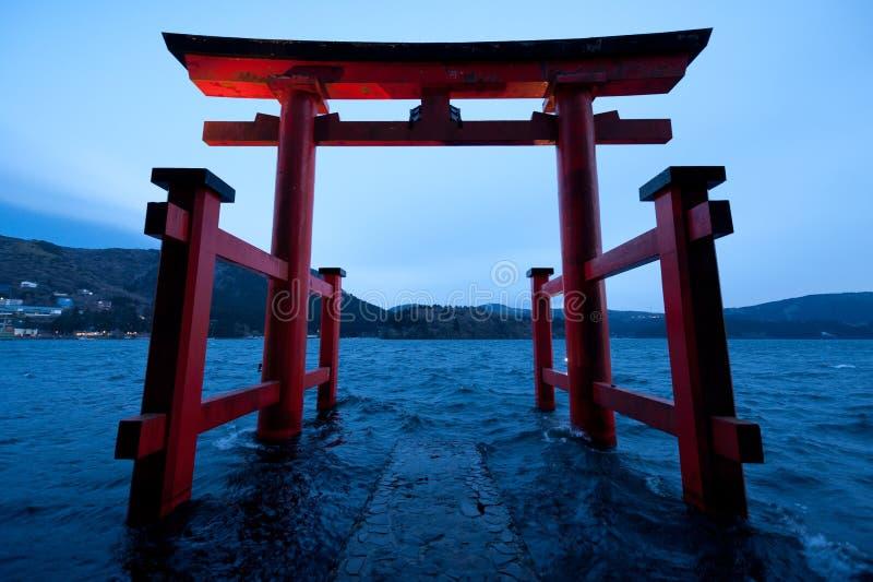 Download Hakone Torii stock image. Image of hakone, reincarnation - 18654651