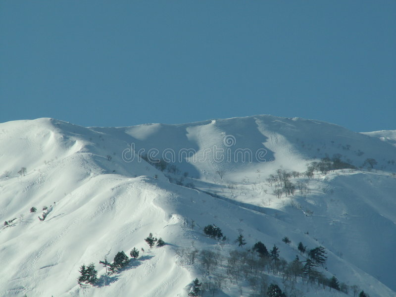 Hakuba-Berge stockbilder