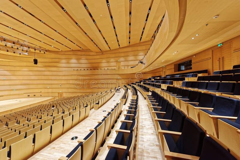 Hala koncertowa Guangxi uroczysty teatr obraz royalty free