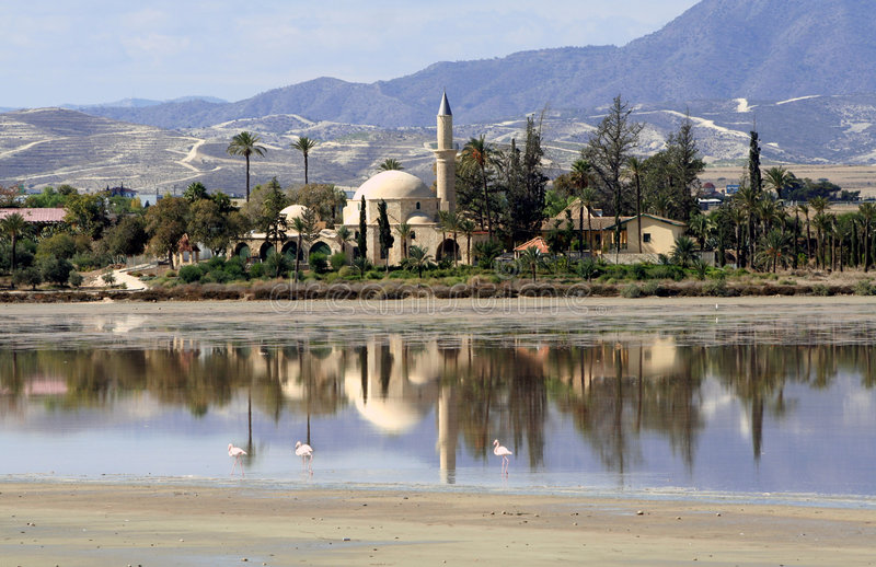 Download Hala Sultan Tekke stock image. Image of muhammad, mosque - 1435799