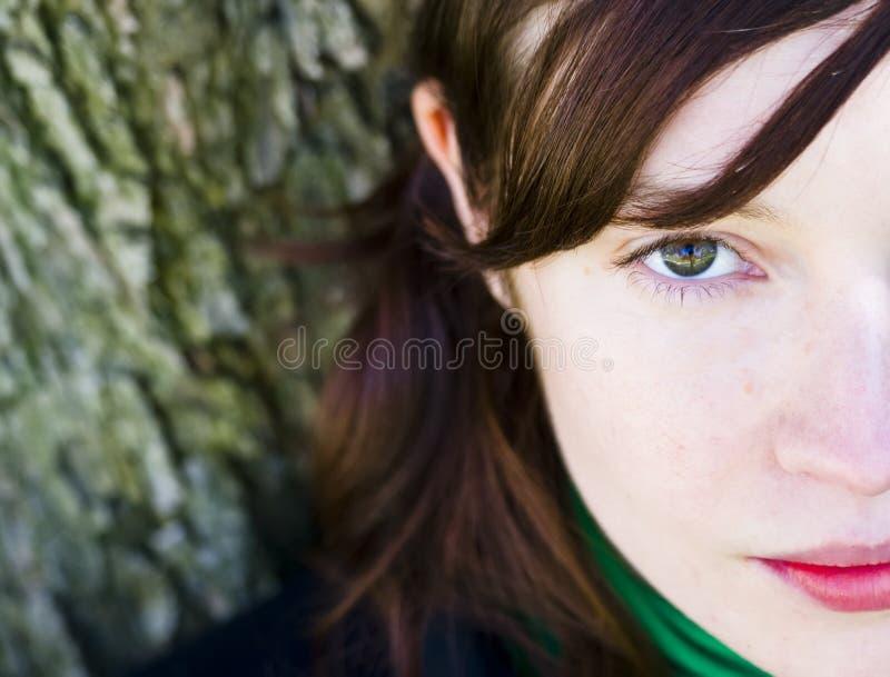 Halb volles Portrait stockfotografie