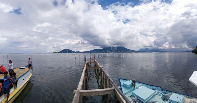 Halbar - Indonesien Timur royaltyfria foton