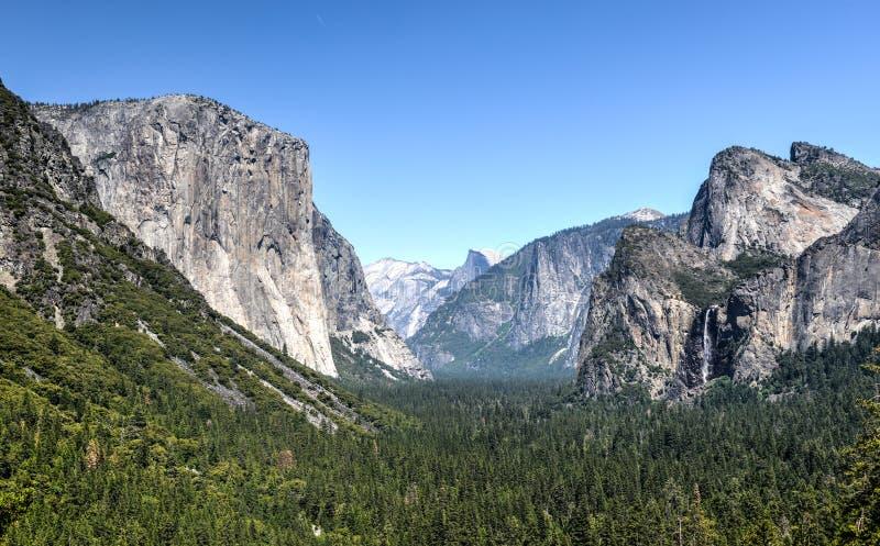 Halbe Haube von Yosemite-Tal stockfotografie
