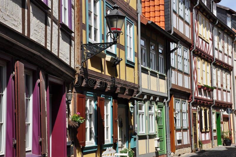 Halberstadt, Sassonia Anhalt, Germania fotografia stock libera da diritti