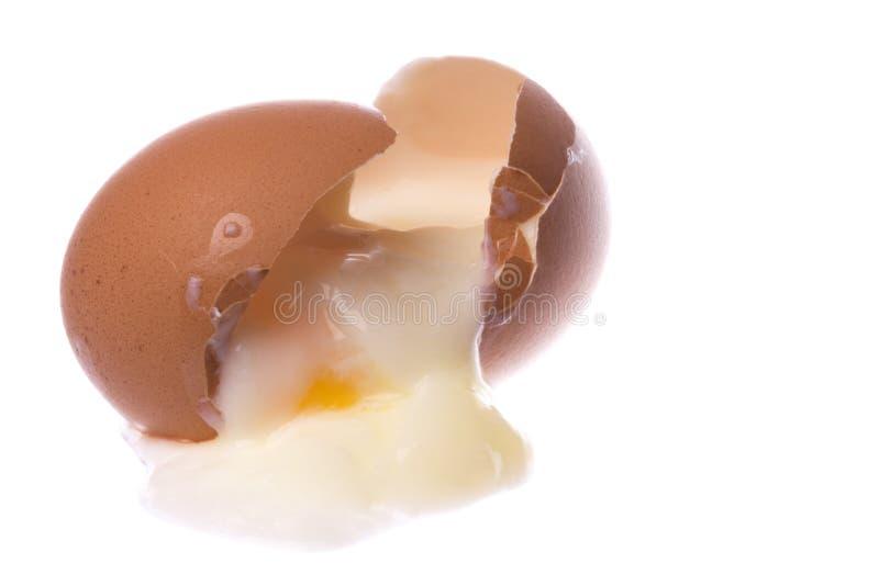 Download Halbes Gekochtes Huhn-Ei Trennte Stockfoto - Bild von eier, gesund: 9097366