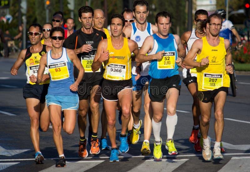 Halbes Marathon lizenzfreie stockfotos