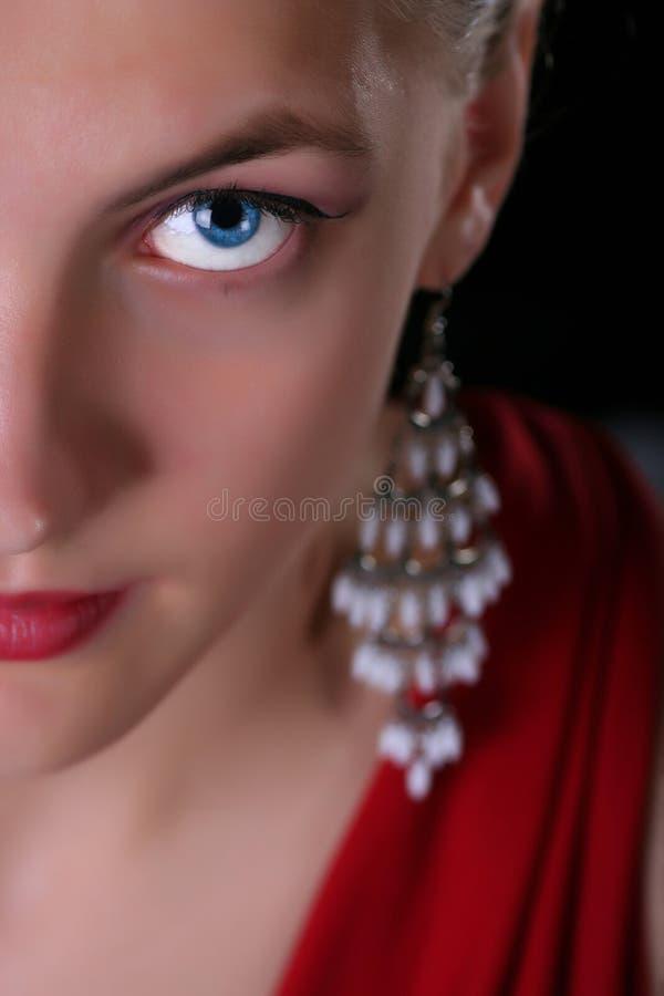 Halbes Portrait stockfotos