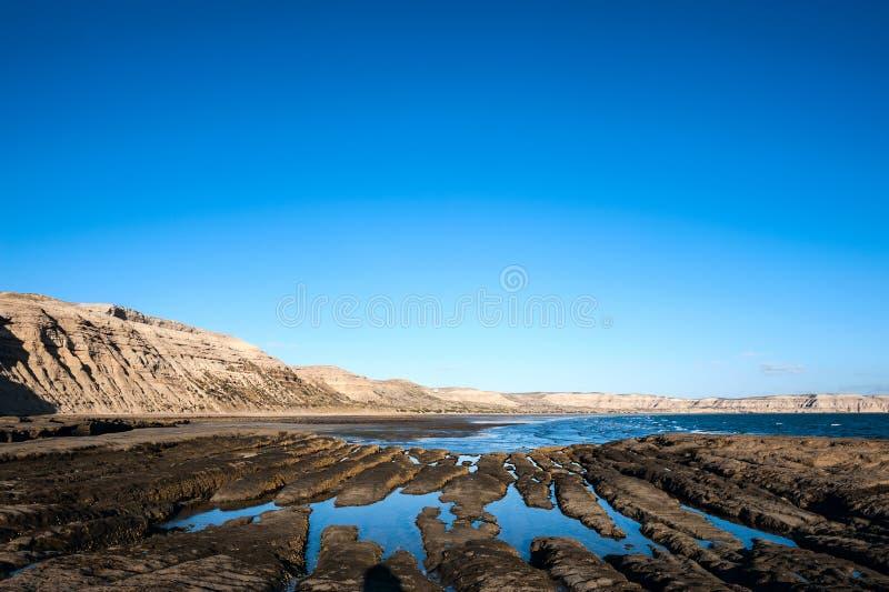 Halbinsel Valdes, Argentinien stockfoto