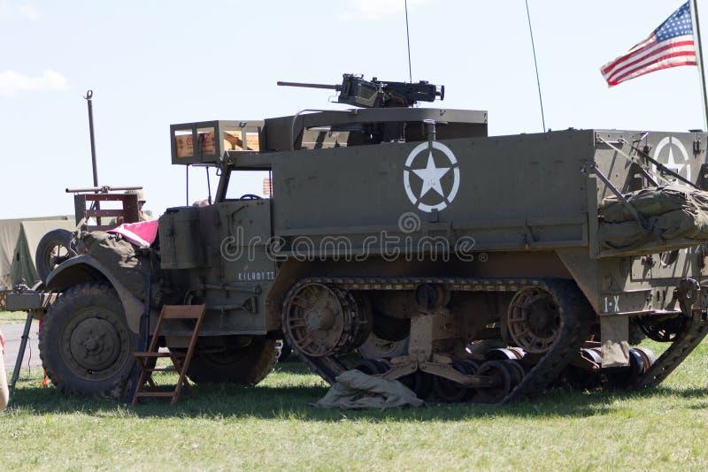 Halbkettenfahrzeug M3 stockfotografie