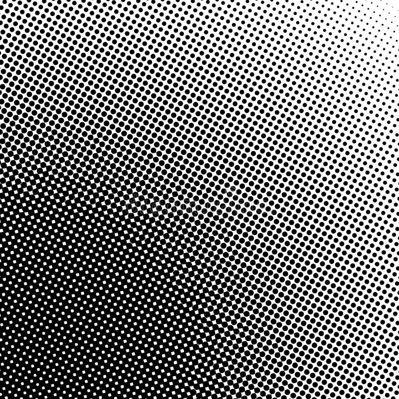 Halbtonbild punktiert Hintergrund Vektor-Halbton-Beschaffenheit lizenzfreie abbildung