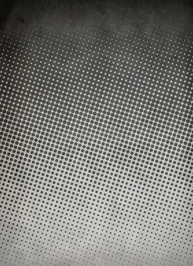 Halbtonmuster Grau lizenzfreies stockfoto