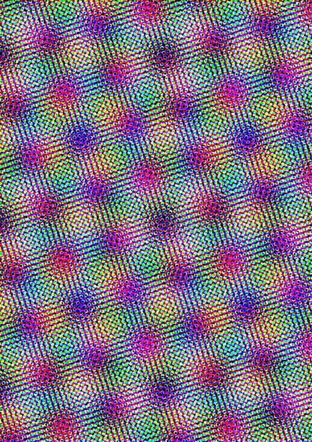 Halbtonmuster-Hintergrund lizenzfreie abbildung