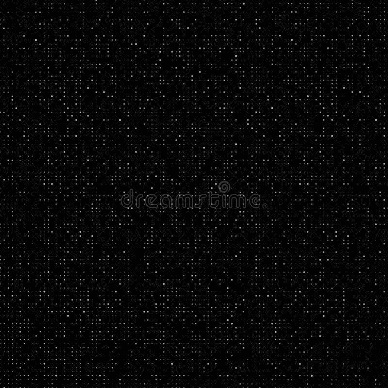 Halbtonmuster Verdorbener Code St?rschubhintergrund Computervirus Steigungsdesignhintergrund Auch im corel abgehobenen Betrag stock abbildung