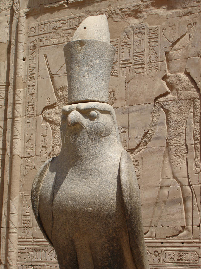 Halcón-dios Horus. fotografía de archivo libre de regalías